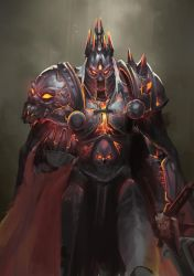 Molten Lich King by jeffchendesigns