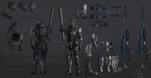Marksman concept by Nazgul91