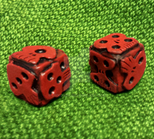 Oogie Boogie Dice (Revisited) by JMKohrs