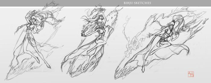 Briju Sketches [Commission] by Avasariah