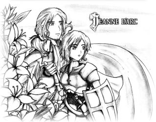 St. Joan of Arc: For God and Country )APH Request) by DjRoguefire