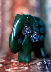Earrings by BryPhotography