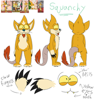 Squanchy Ref by Radicalhat