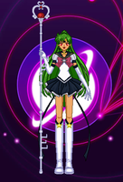 Eternal Sailor Pluto - Original Senshi by PokemonOmegaandAlpha