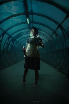 Bioshock - scared Little Sister by DariaAmbrosia