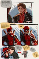 Spideypool proposal 1 by NanakoBlaze