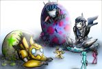 Easter Transformers by Israel42