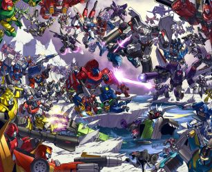 TFcon 2009 poster colors by markerguru