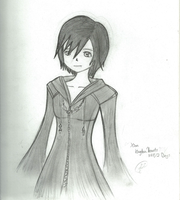 Xion - Kingdom Hearts by Ragidi