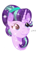 Crystal Starlight Portrait by InfiniteWarlock