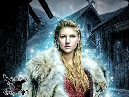 Lagertha by thecasperart