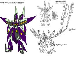 AIXp 003 Gundam BattleLord by Deadman0087