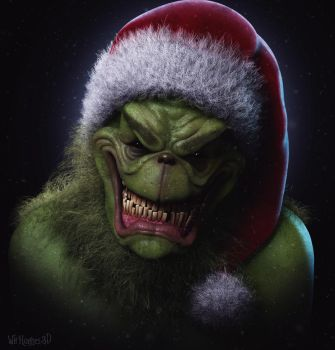 The Grinch by 90swil