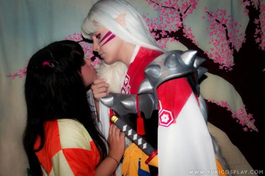 Kiss From A Rose - InuYasha by Yukilefay