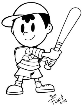 Ness by FlintofMother3