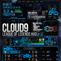 Cloud9 Team League of Legends HUD by LeftLucy