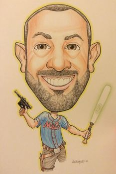 Caricature Commission 2 by Walmsley