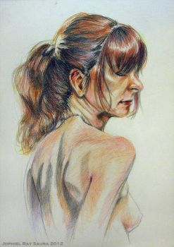 Life Drawing Series 8 by JophielS