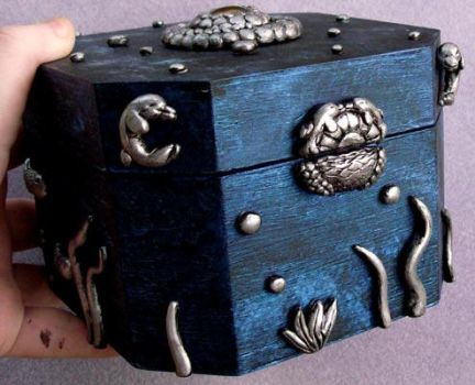 Dolphin Box - Side-Front View by jemnisimi