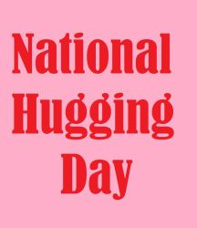 National Hugging Day by VKA3