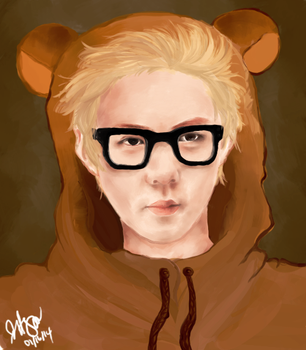 In a bear suit by aegeanmist