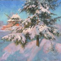 Frost: Minus 25 by DChernov