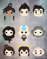 Legend of Korra EPF Designs by mell0w-m1nded
