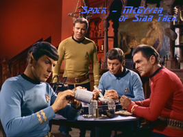 Spock - McGyver of Star Trek by InnocentRedShirt