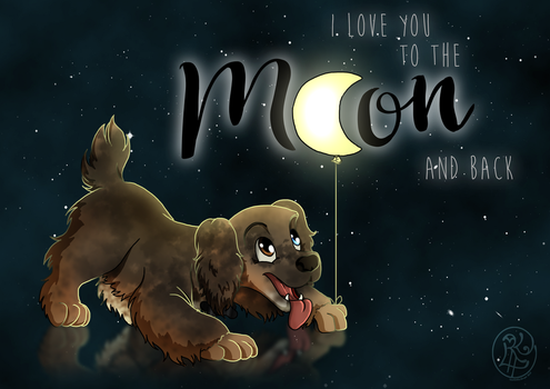 I Love You To The Moon And Back by SweetLittleVampire