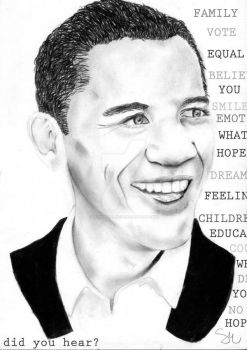 Barack Obama by sophie-melissa