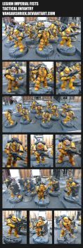 Legion Imperial Fists - Tactical Infantry by VangarShriek