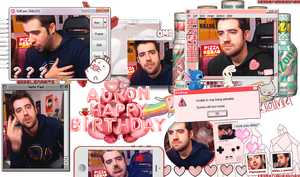 ~HBDay AuronPlay by ISirensDesigns