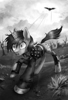 Fallout: Equestria 2 by LimreiArt