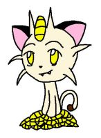 Meowth by TapinAnts
