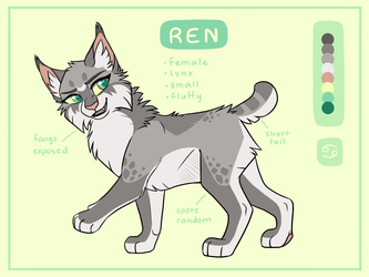 Ren Ref Sheet by RenAstraea