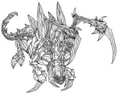 Starcraft 2 Zerg Zergling by Kerberos-of-Hades