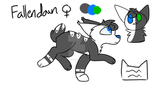 Fallendawn Ref by Redpandaseas