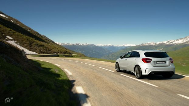 Mercedes-Benz A45 AMG by NissanGTRFan