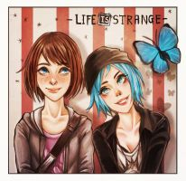 Life Is Strange_Max and Chloe by west-24