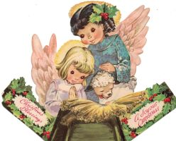 1952 Christmas Card by IdanCarre
