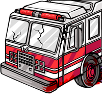 Fire Truck Smash by phoenixignis