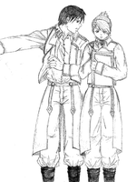 Roy and Riza: working by tviki