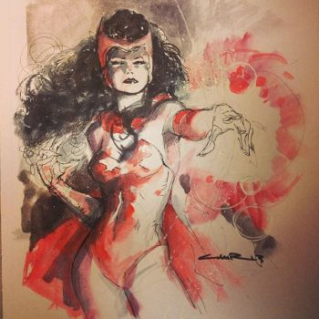 Scarlet Witch by Cinar