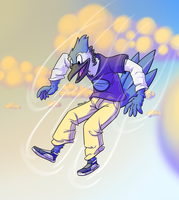 This Skydiving Business Is For The Birds by McKnackus
