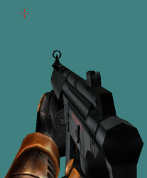 OLD ART - MP5 for HL1 by Pyrosity