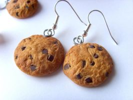 Cookie Earrings by tyney123