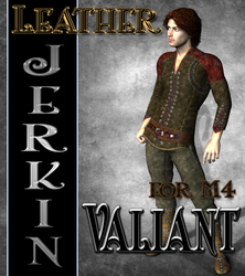 Leather Jerkin Texture for M4 Valiant by mylochka