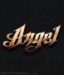 Metallic Copper Text Effect by fluctuemos