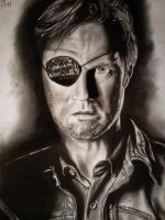 The Gouverneur from the walking dead by mchofmann