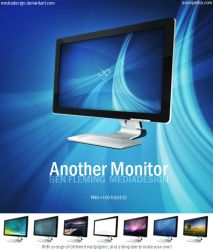 Another Monitor Dock Icons by MediaDesign